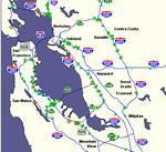 Bay Area Traffic Map